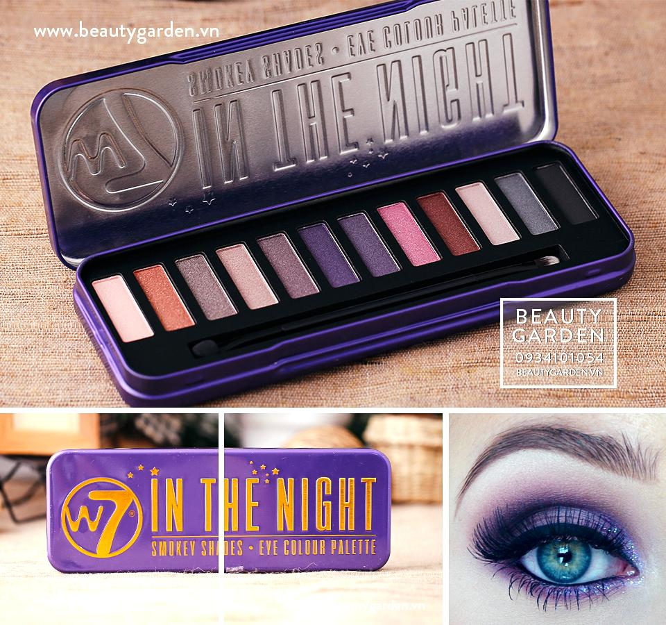 Phấn mắt W7 IN THE NIGHT SMOKEY SHADES - EYE COLOUR PALETTE