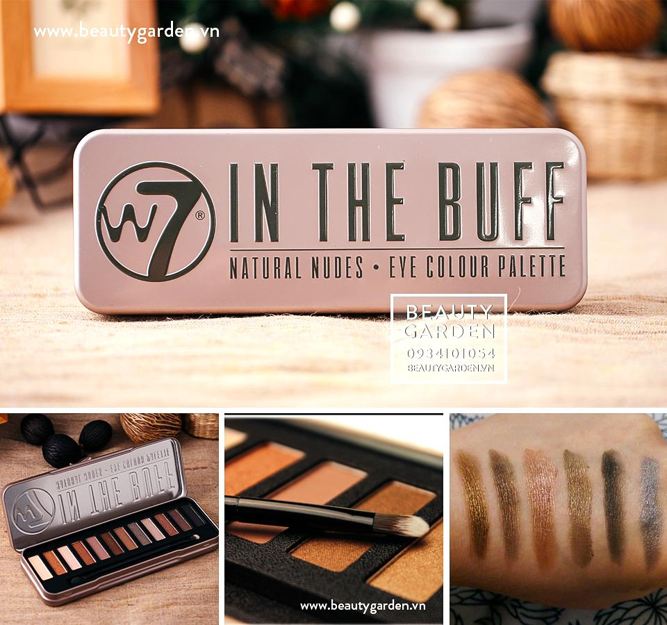 Set phấn mắt W7 In The Nude Eye Colour Palette