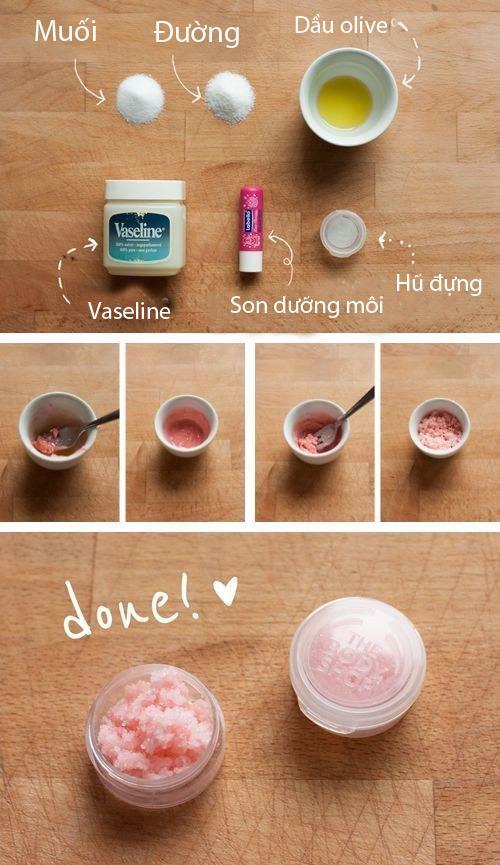 Cách làm cho da môi bóng mượt khi tô son