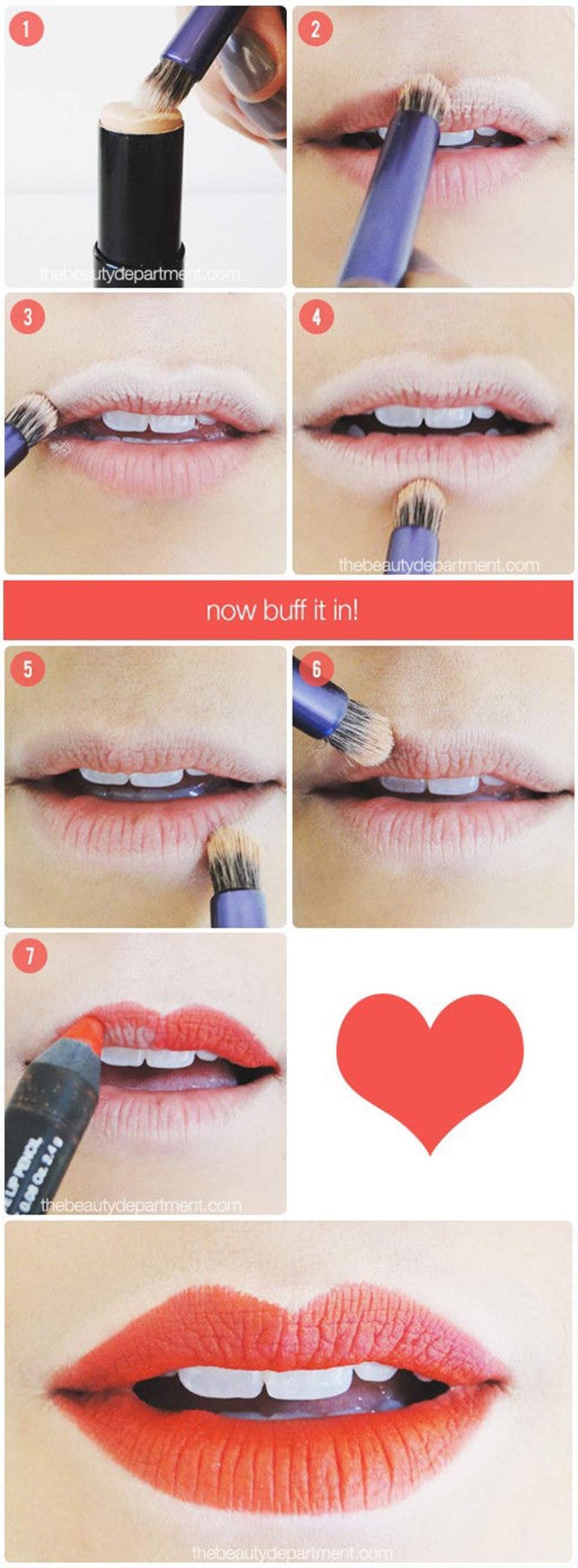 Phương pháp tô môi mỏng