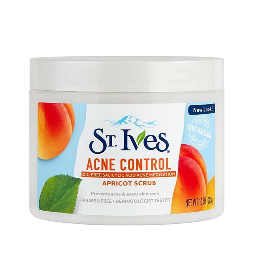 Kem tẩy tế bào chết St.Ives Apricot Body Scrub