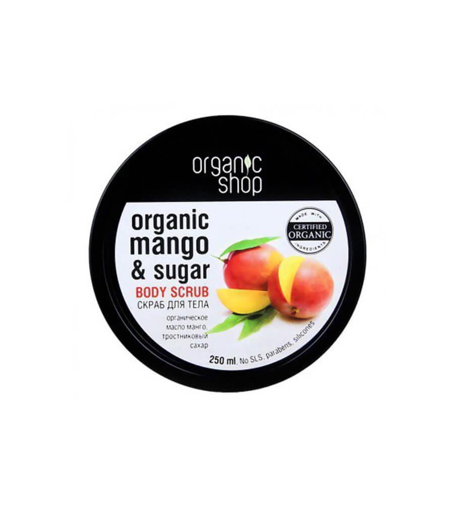 Tẩy da chết Organic Mango & Sugar Body Scrub