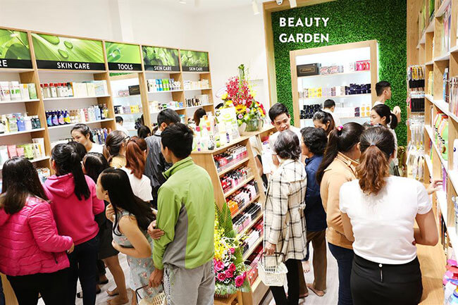 Hệ thống mỹ phẩm chính hãng Beauty Garden uy tín chất lượng hàng đầu hiện nay