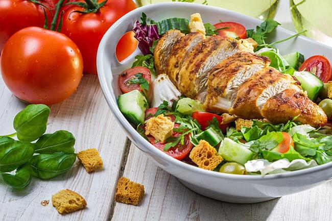 Cách làm giảm mỡ bụng bằng chế độ ăn uống