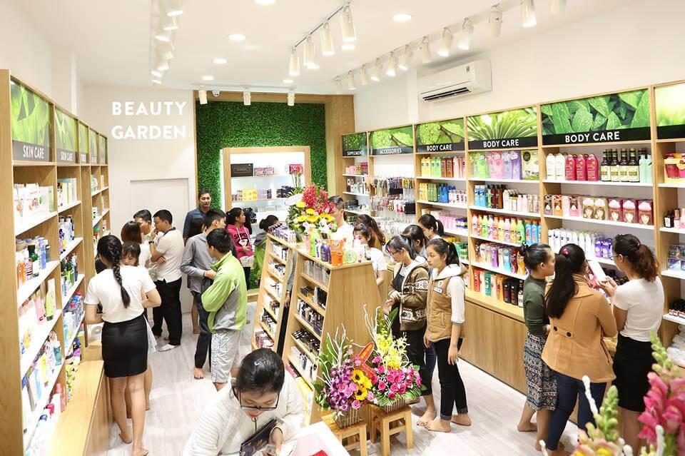 Beauty Garden cam kết chỉ bán mỹ phẩm nhập khẩu chính hãng
