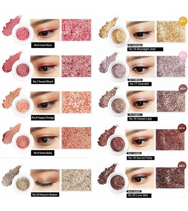 Phấn mắt Aritaum Shine Fix Eyes từ thương hiệu Aritaum của Hàn Quốc