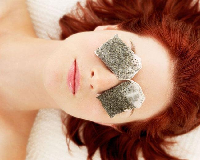 Đắp mặt nạ cho vùng da mắt