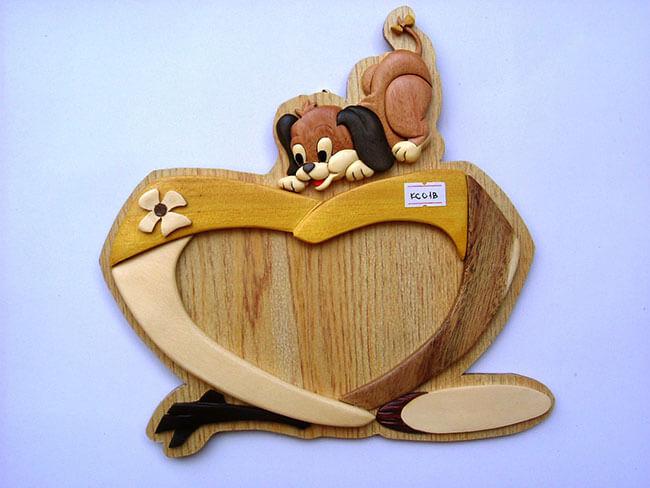 Khung ảnh gỗ lưu giữ kỳ niệm tình bạn ngọt ngào