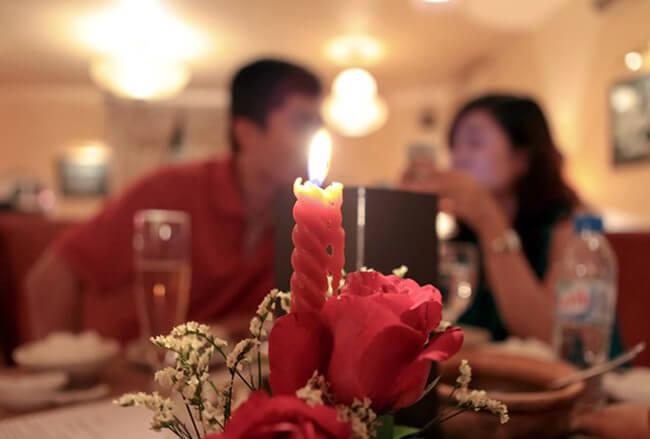 Bữa cơm cho đêm noel thêm ngọt ngào và ấm áp