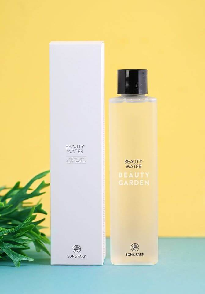 Nước thần Son&Park Beauty Water - Cleanse, Tone & Lightly Exfoliate