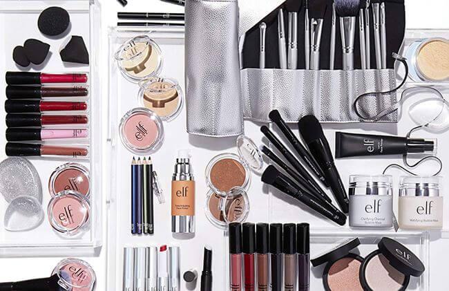Thương hiệu E.L.F cung cấp nhiều sản phẩm giá cả tầm trung, chất lượng tuyệt vời cho bạn gái tha hồ mua sắm và trang điểm