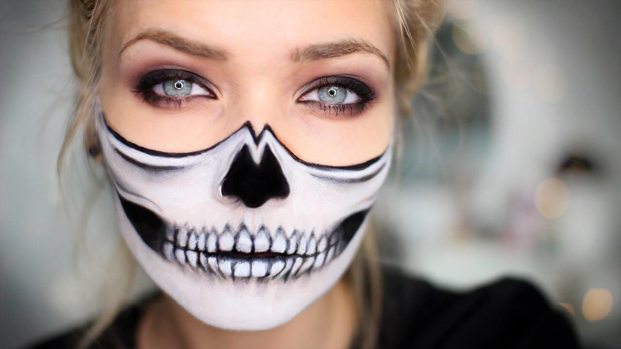 Với các trang điểm này, bạn dễ dàng tạo hình đậm chất Halloween