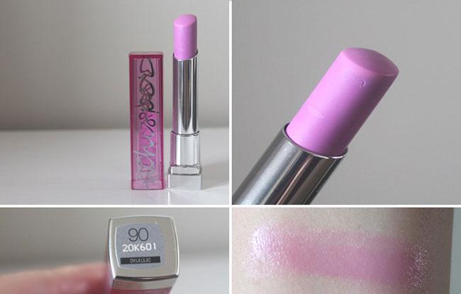 Màu son sáng nổi bật nhất - Tím lilac