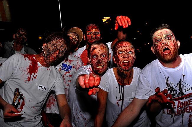 Hóa thân zoombie dành cho các bạn nam vào đêm Halloween