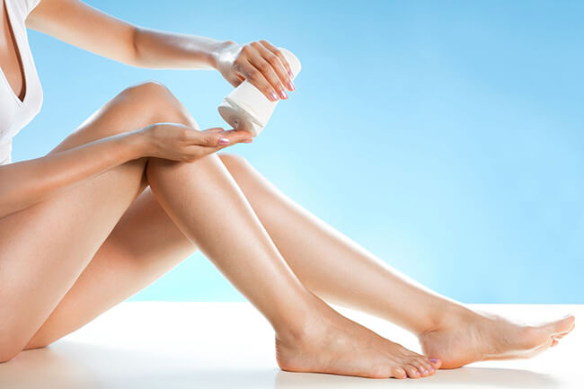 Sử dụng kem tẩy lông chân cho những bạn mong muốn hiệu quả ngay lập tức