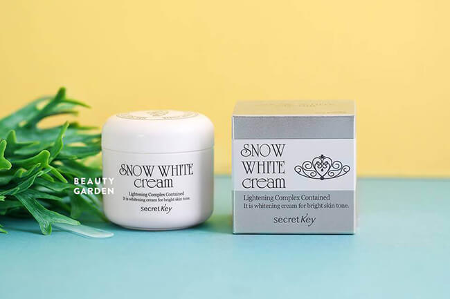 Kem dưỡng trắng da Snow White Cream - kem dưỡng trắng da hàn quốc tốt thứ hai