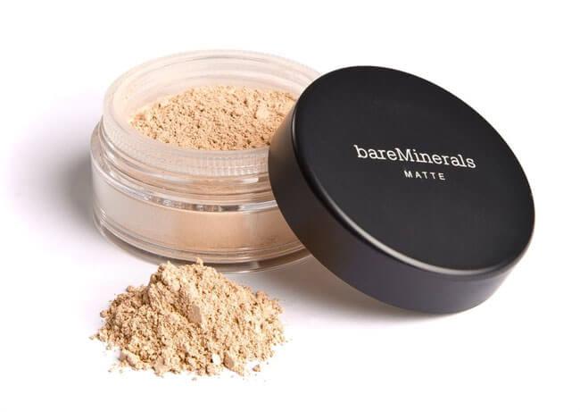 Kem nền tốt nhất cho da dầu và mụn Bare Minerals Matte Foundation Broad Spectrum SPF 15