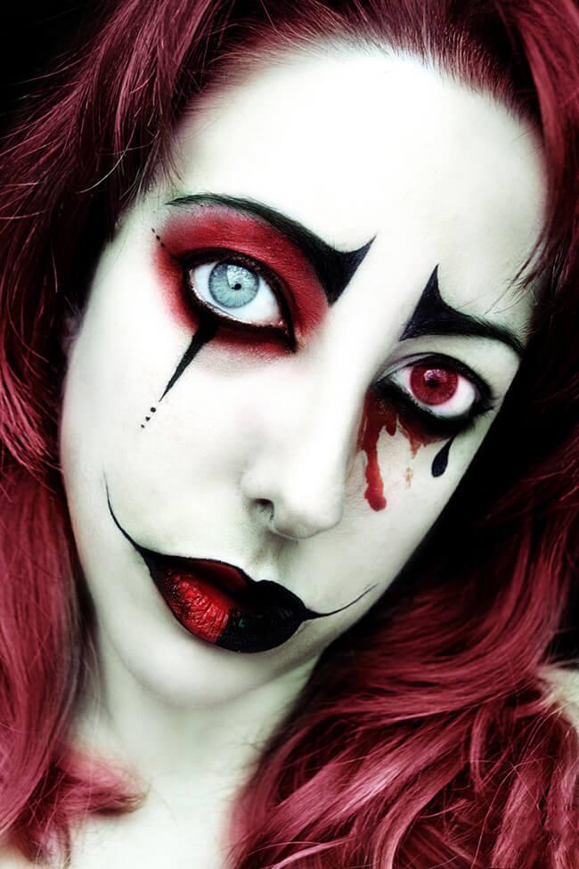Hình ảnh những con ma dữ tợn cũng là cách trang điểm cho đêm Halloween thêm ấn tượng