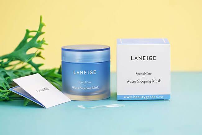 Mặt nạ ngủ Laneige Water Sleeping Mask mặt nạ được ưa chuộng nhất hiện nay