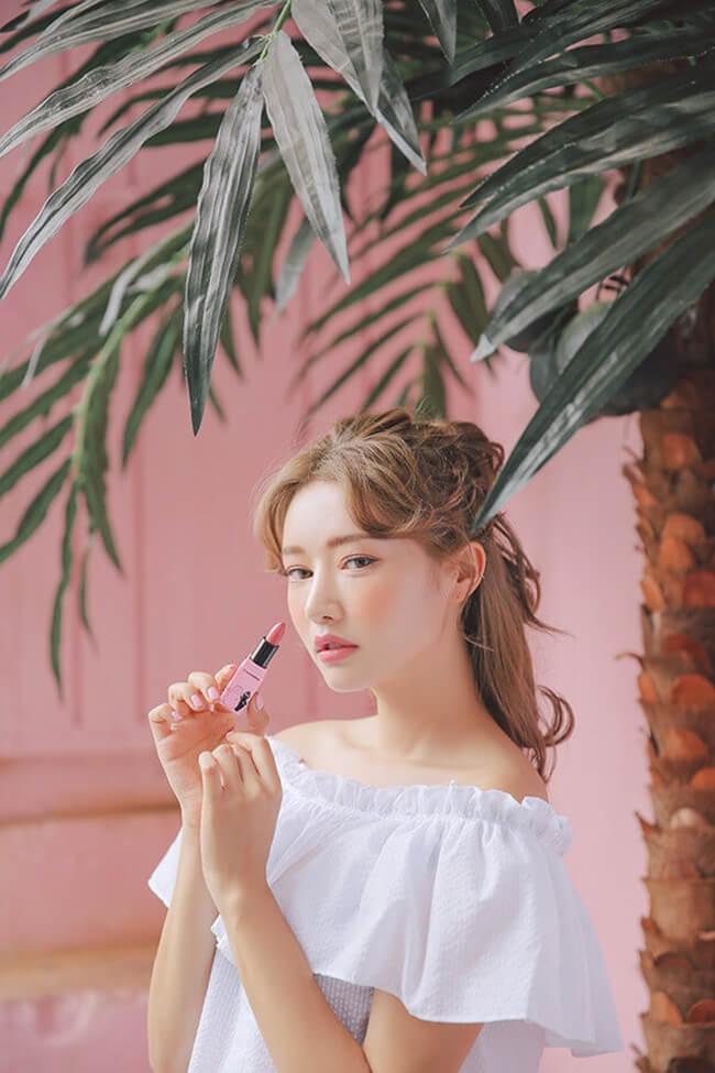 Màu son thích hợp để trang điểm theo kiểu Hàn Quốc