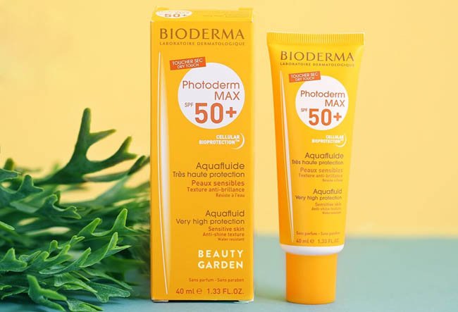 kem chong nang bioderma aqua fluid very high protection spf50 40ml hinh anh 1