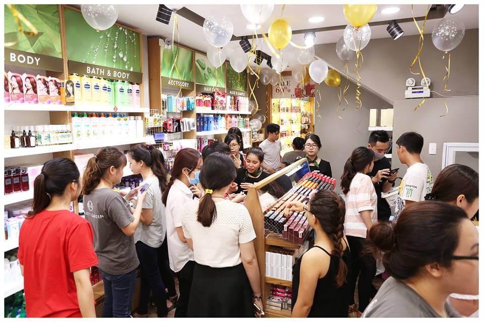 Hình ảnh ghi nhận tại đại tiệc sinh nhật của Beauty Garden Quận 3