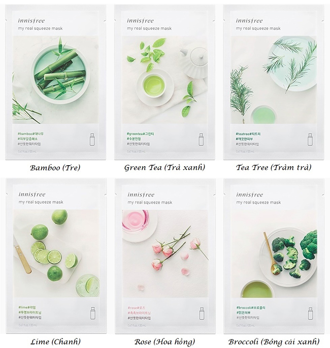 review danh gia mat na giay innisfree its real squeeze mask hinh anh 3