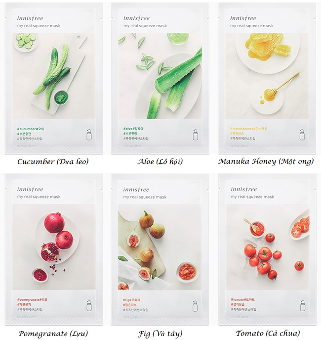 review danh gia mat na giay innisfree its real squeeze mask hinh anh 4