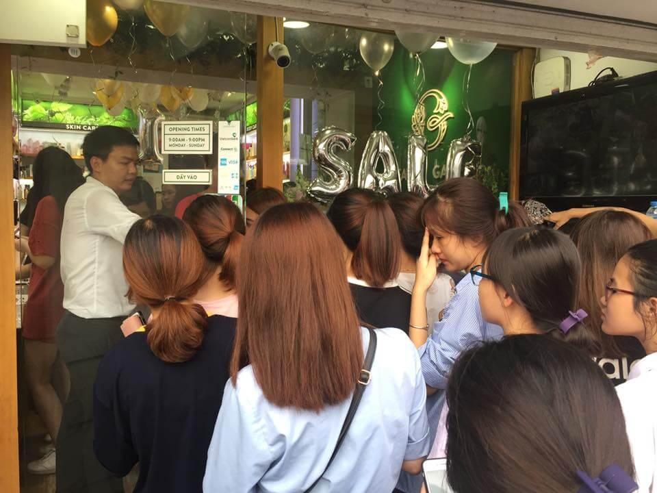 Beauty Garden Hà Nội Sale Up To 60% nhân dịp sinh nhật 1 năm
