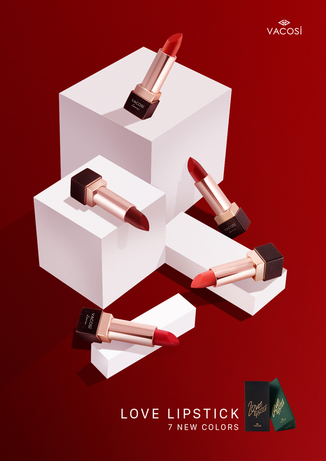 son thoi mem min moi vacosi natural studio love lipstick hinh anh 1