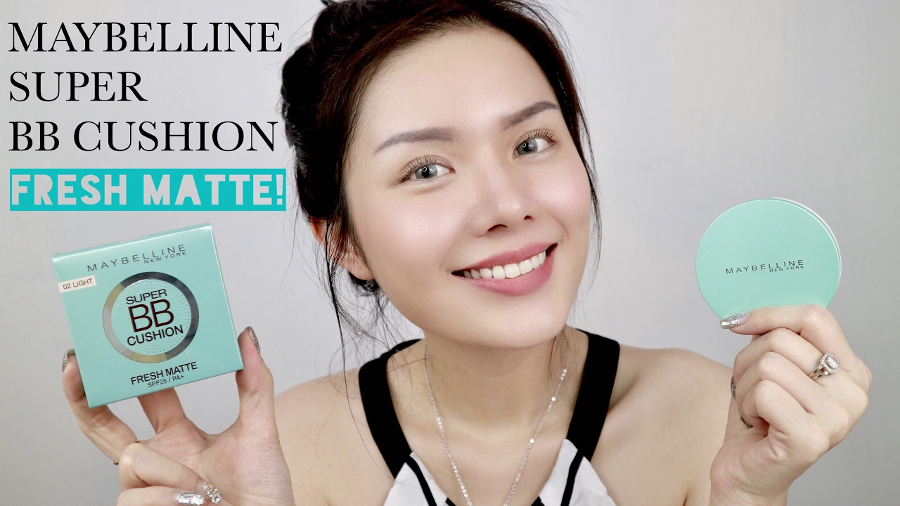 review phan nuoc cho da dau maybeline super bb cushion fresh matte spf25 hinh anh 1